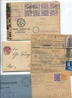 8372) 10 Belege Gesamtdeutschland - Affrancature Meccaniche Rosse (EMA)