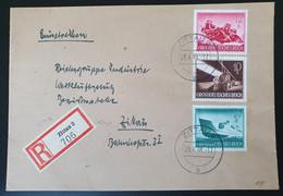 """Deutsches Reich 1944, Reko Ortsbrief MiF """"Wehrmacht"""" ZITTAU - Storia Postale"""