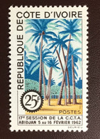 Ivory Coast 1962 Technical Cooperation Trees MNH - Trees