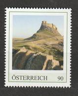 Österreich Personalisierte BM Reise Durch England Lindisfarne Castle Northumberland ** Postfrisch - Private Stamps