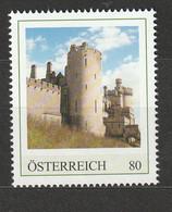 Österreich Personalisierte BM Reise Durch England Arundel Castle West Sussex ** Postfrisch - Private Stamps