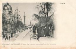 PARIS : EXPO 1900 - LE TROTTOIR ROULANT AU PONT DES INVALIDES - Andere