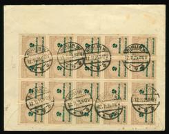 Infla Beleg 1923 MeF 20x M Nr. 326 Gelaufen Von Berlin Nach London, England - Brieven