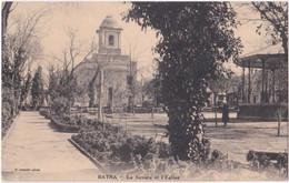 BATNA. Le Square Et L'Eglise - Batna