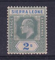 Sierra Leone: 1904/5   Edward     SG96     2/-      MH - Sierra Leone (...-1960)