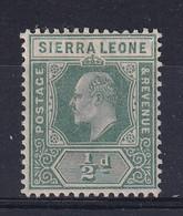 Sierra Leone: 1907/12   Edward     SG99     ½d     MH - Sierra Leone (...-1960)
