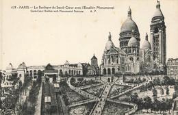 PARIS : LA BASILIQUE DU SACRE COEUR - Andere