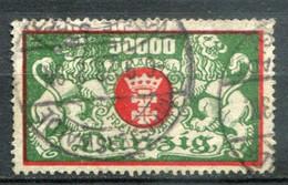Danzig Mi# 149 Gestempelt/used - Coat Of Arms  - Geprüft INFLA Berlin - Dantzig