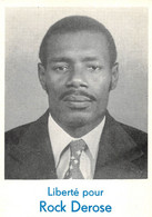 "HAÏTI  -  PORT-AU-PRINCE  -  Carte Politique  -  "" ROCK DEROSE ""  -  Parti Communiste  -  Carte Pétition - Haïti"
