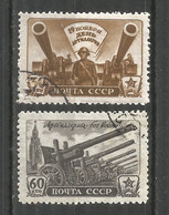 Russia USSR 1945 Year, Used Stamps Mi.# 997-998 - Used Stamps