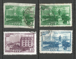 Russia USSR 1948 Year, Used Stamps Set  Mi # 1298-1300, 1300B - Usados