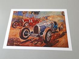 Affiche Course De Voiture Anciennes : Duel France Italie Dans Le Grand Prix De Rome - Posters