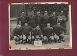 210821A - PHOTO SPORT FOOT équipe BELGIQUE 1950 - Match FRANCE BELGIQUE - MEES VAN DER AUVERA VAILLANT ANOUL MEERT - Sport