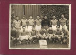 210821A - PHOTO A BIENVENU PARIS - SPORT FOOT équipe FRANCE / HOLLANDE - 1950 CUISSARD HUGUET ARNAUDEAU VIGNAL RANZONI - Sports