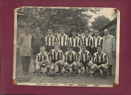 210821A - PHOTO A BIENVENU PARIS - SPORT FOOT - 31 FC TOULOUSE équipe 1950 51 FREY IBRIR DERUELLE FORTUNEL MIRAMOND - Sports