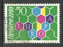 LIECHTENSTEIN 1960 Used Stamp Europa Cept - Used Stamps