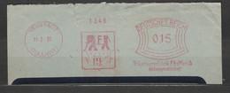 Deutsches Reich Briefstück Mit Freistempel Neustadt 1931 Haardt Trikotwarenfabrik Helfferich Motiv Elefant - Poststempel - Freistempel