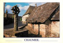 19 - Chaumeil - Au Coeur Des Monédières, Le Village De Chaumeil Et Sa Croix - CPM - Voir Scans Recto-Verso - Other Municipalities