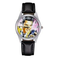 Montre à Quartz NEUVE Bracelet Cuir ! ( Watch ) - Elvis Presley ( Ref 7 ) - Orologi Moderni