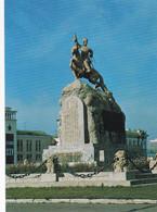 Mongolia - Ulaanbaatar  Ulan Bator - Monument To Sukhe Bator - Mongolia