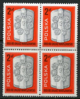 POLAND 1980 Warsaw Pact Block Of 4 MNH / **.  Michel 2685 - Unused Stamps