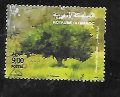 TIMBRE OBLITERE DU MAROC DE 2020 - Marocco (1956-...)