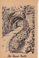 Carte Postale En Bois Les Grands Goulets Art Bois - Altri Comuni