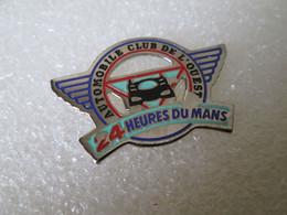 PIN'S    24 HEURES DU MANS   AUTOMOBILE CLUB DE L OUEST - Rallye