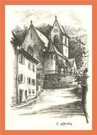 A348 / 319 68 - FERRETTE Eglise ( F. MAURER ) - Non Classificati