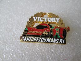 TOP  RARE PIN'S    MAZDA   787 B  VICTORY   24 HEURES DU MANS 91   ARTHUS BERTRAND - Rallye