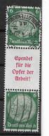 Deutsches Reich, Guter Gestempelter 3er Zusammendruck Der Hindenburg-Ausgabe Von 1934 - Se-Tenant