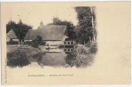CPA   SAINT - PELLERIN   Moulin De Godebert - Andere Gemeenten