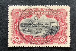 OBP  19 - Gestempeld LUALI - 1894-1923 Mols: Usati