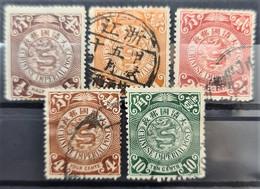 CHINA 1898 - MLH/canceled - Sc# 98-101, 103 - Nuovi