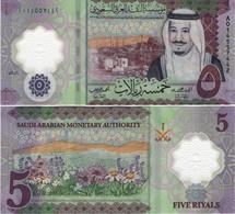 SAUDI ARABIA       5 Riyals       P-New       2020 / AH1441         UNC - Saudi Arabia
