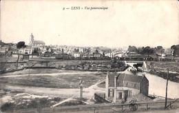 62 - Lens - Vue Panoramique (train) - Lens