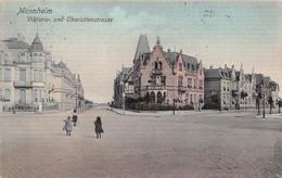 MANNHEIM GERMANY~VIKTORIA Und CHARLOTTENSTRASSE ~ 1905 TINTED DR TRENKLER PHOTO POSTCARD 53519 - Mannheim