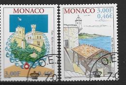 MONACO Yv 2298/9 Obli - - Used Stamps