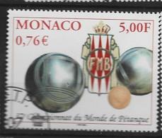 MONACO Yv 2303 Obli - - Used Stamps