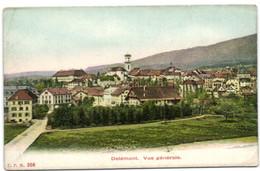 Delémont - Vue Générale - JU Jura