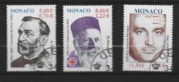 MONACO Yv 2314/6 Obli - - Used Stamps