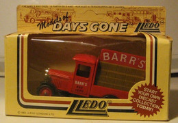 LLEDO - VEHICULE COMMERCIAL : BARR'S - Other