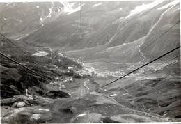 """Funivia Plateau Rosa FOTOGRAFIA  - AOSTA VALLE D'AOSTA - VERA FOTO ANNI 60"""" 10x6,5 Cm - F01938 - Lieux"""
