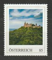 Österreich Personalisierte BM Reise Durch Deutschland Burg Hohenzollern ** Postfrisch - Private Stamps