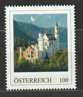 Österreich Personalisierte BM Reise Durch Deutschland Schloss Neuschwanstein ** Postfrisch - Private Stamps