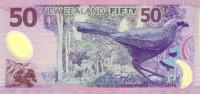 NEW ZEALAND P. 188a 50 D 1999 UNC - New Zealand