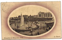 Exposition De Bruxelles 1910 - Le Bassin - Universal Exhibitions
