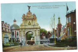 Exposition Universelle De Bruxelles 1910 - Entrée De Bruxelles Kermesse - Universal Exhibitions