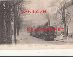 91 // MAISSE   Boulevard Du Nord   Edit Weizel    Animee   TRAIN - Altri Comuni