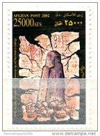 Afghanistan 2002 Bamyan Buddha Statue History Stamp Memorial - Afghanistan